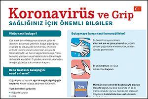 "Informations-Flyer ""Coronavirus"" Türkisch (PDF)"