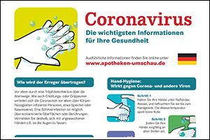 "Informations-Poster ""Coronavirus"" Deutsch (PDF)"