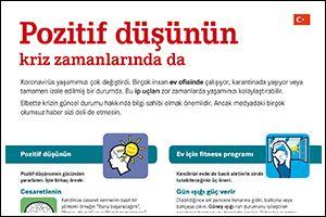 """Informations-Flyer """"Positiv denken"""" Türkisch (PDF)"""